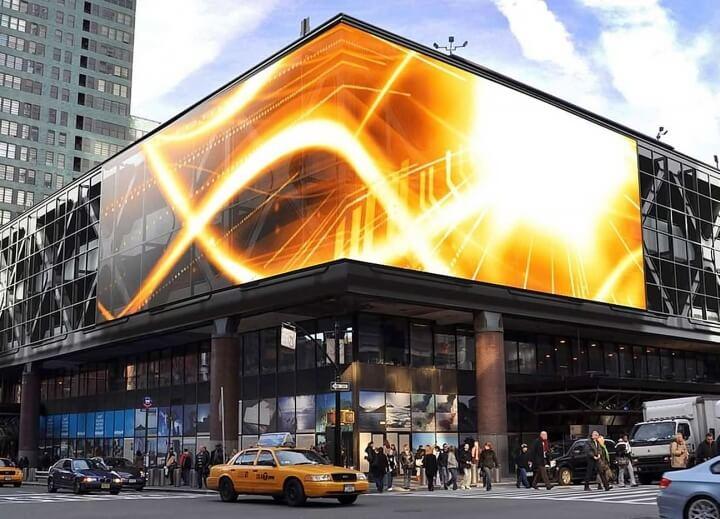 светодиодные рекламные панели